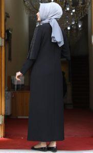 Amine Hüme Sade Abiye Modeli