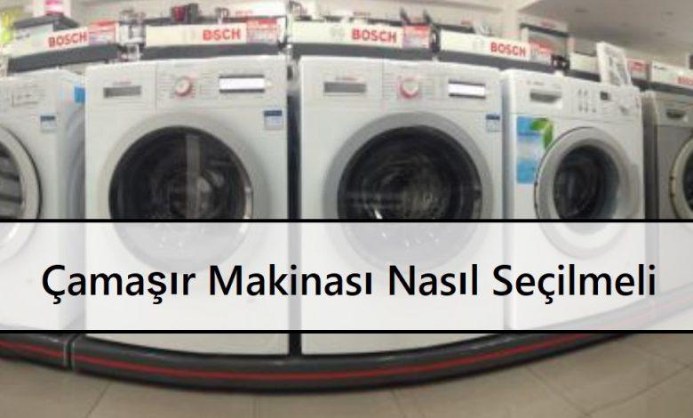Çamaşır Makinası Nasıl Seçilmeli Çamaşır Makinası Alacaklara Püf Noktalar