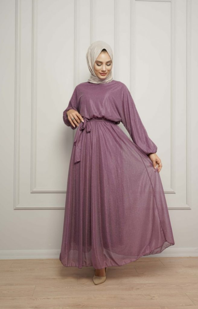 Evde Nişan için Tesettür Kıyafet Önerisi