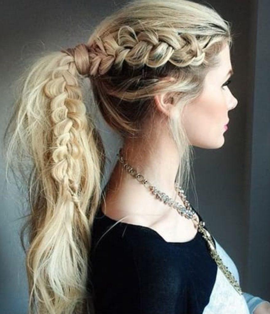 Helenistik Örgülü Saç Stili