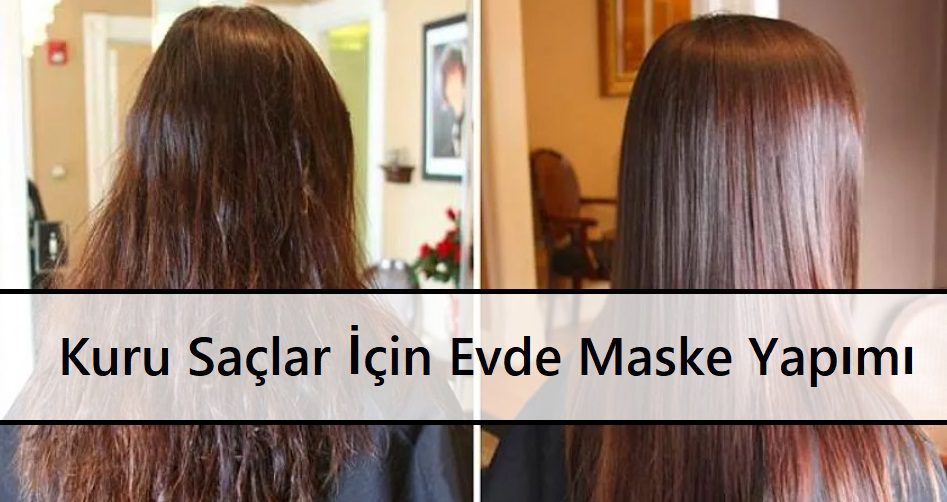Kuru Saçlar İçin Evde Maske Yapımı