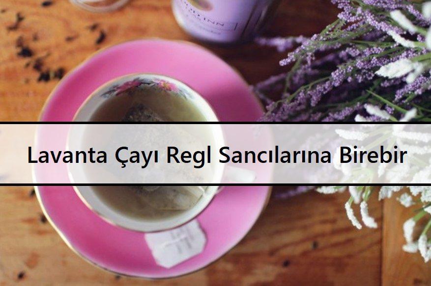 Lavanta Çayı Regl Sancılarına Birebir
