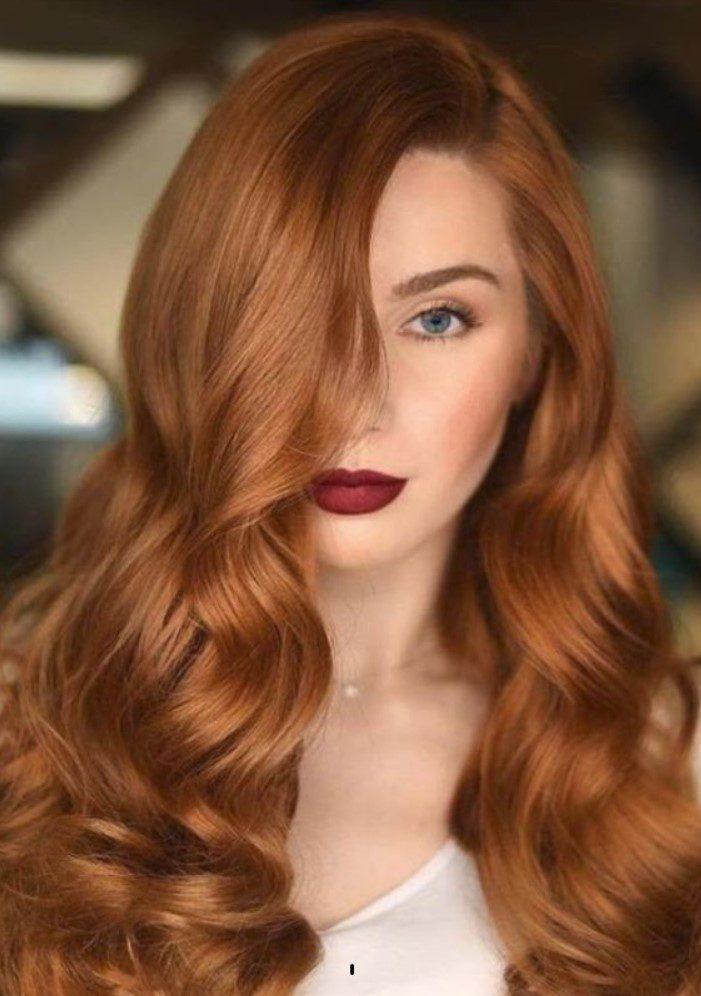 Tarçın Bakır Saç Modelleri