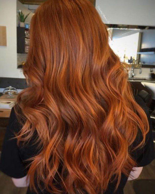 Tarçın Bakır Saç Rengi Kataloğu