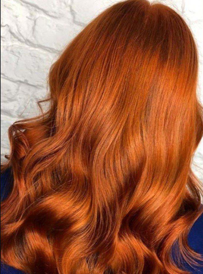 Tarçın Bakır Saç Rengi