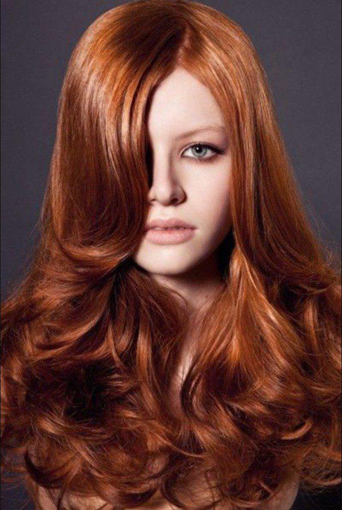 Tarçın Bakır Saç Renk tarzları