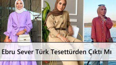 Ebru Sever Türk Tesettürden Çıktı Mı