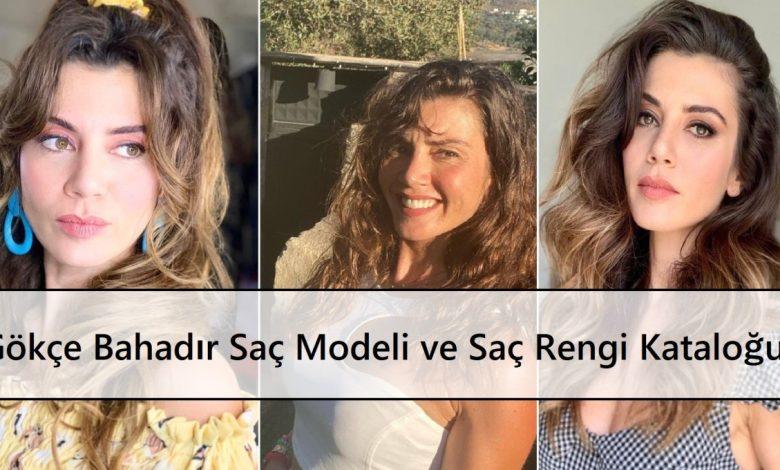 Gökçe Bahadır Saç Modeli ve Saç Rengi Kataloğu Ana