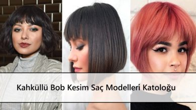 Kahküllü Bob Kesim Saç Modelleri Katoloğu ana