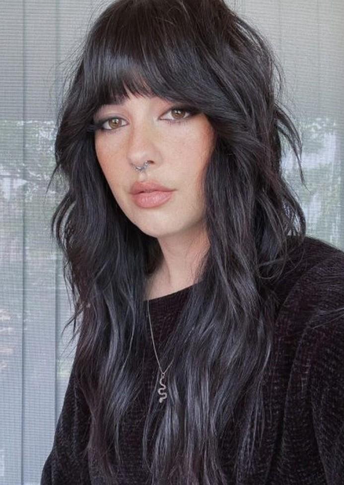 Wolf Cut saç kesim modelleri