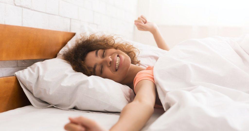 Yatmadan önce saç bakımı